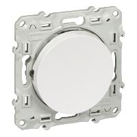 Переключатель с LED бел ODACE