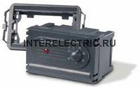 1T.51.8.230 | Электронный  термостат, для монтажа на лицивую панель (серый); 1 перекидной контакт 5А (~ 230В AC)