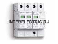 7P.14.8.275.1012 | Устройство защиты от импульсных перенапряжений тип 1 - варисторная защита L1, L2, L3-N + искровой разрядник N-PE (~ 275В AC)