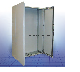 EKD12123 | Компактный двухдверный шкаф из листовой стали, IP55, 1400x600x300