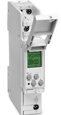 037200011   TALENTO 371 mini plus Программируемый цифровой недельный таймер, 1 канал 16А, 230В AC, узкий